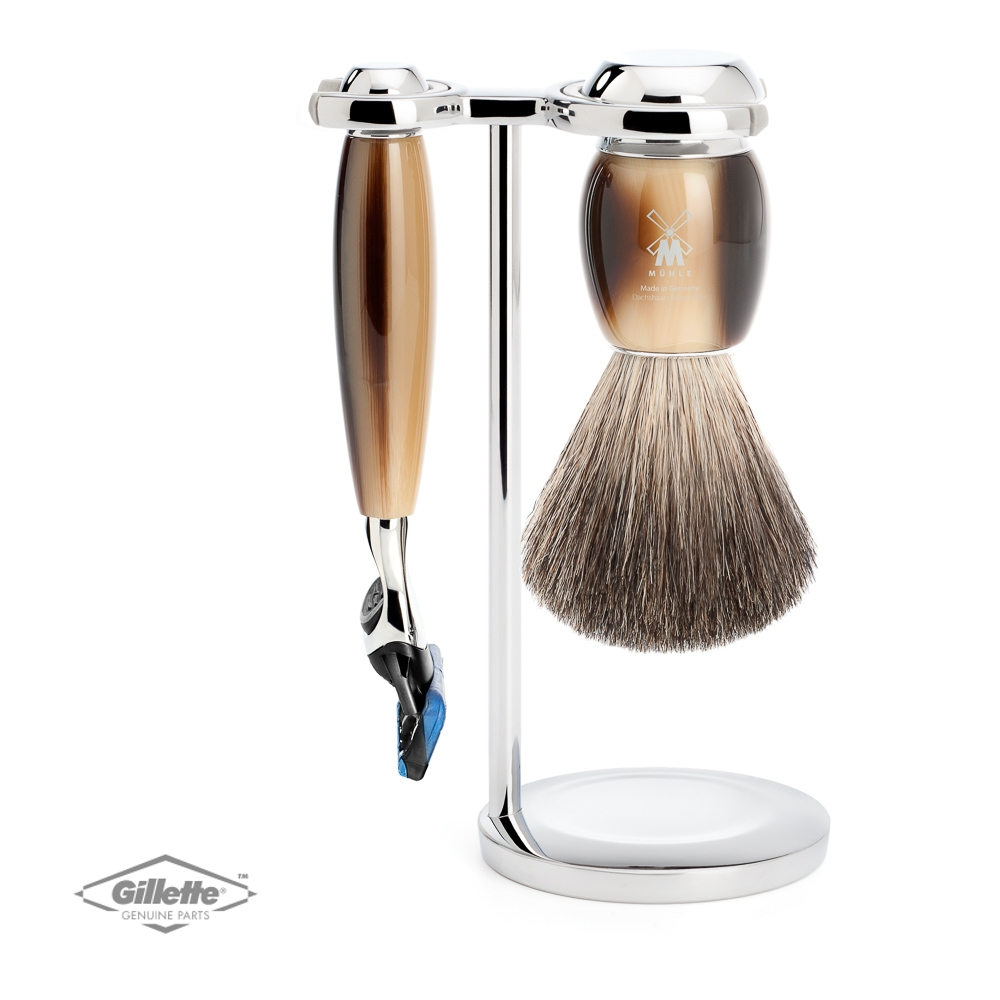 Muhle Edition 1 – 5 Blade Razor Set with Silvertip Badger Shaving